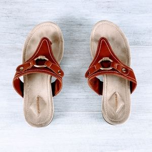 St John's Bay Leather Thong Sandals